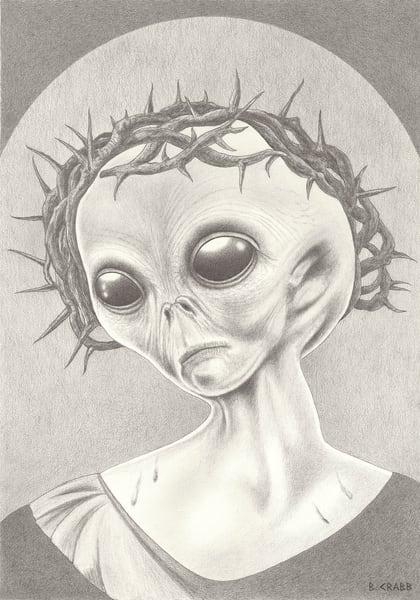 Alien Jesus Crown, Fri Jul 26, 2019,  7:12:15 PM,  8C, 4296x6018,  (903+1639), 100%, low contrast 8,  1/30 s, R54.5, G45.4, B87.1