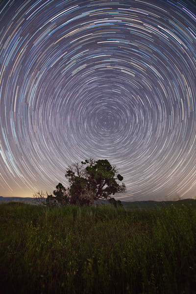 Star Trails Above The Canyon Art | Chad Wanstreet Inc