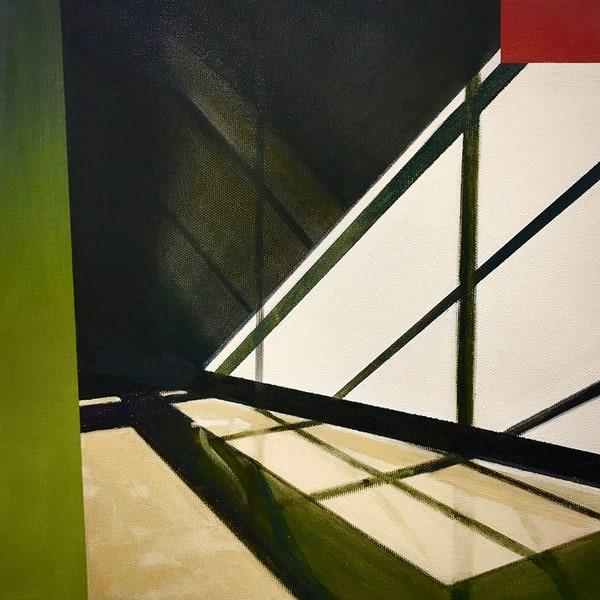 Shadows In An Empty Office Art   Allan Gorman Fine Art