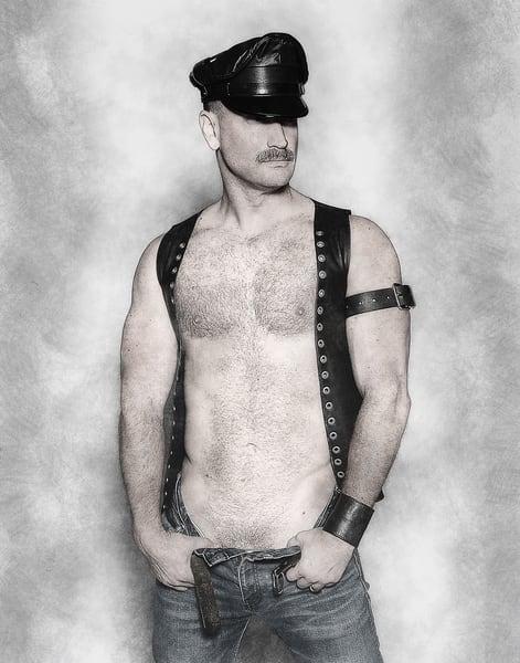 Leather Man Photography Art   Kristofer Reynolds Photography