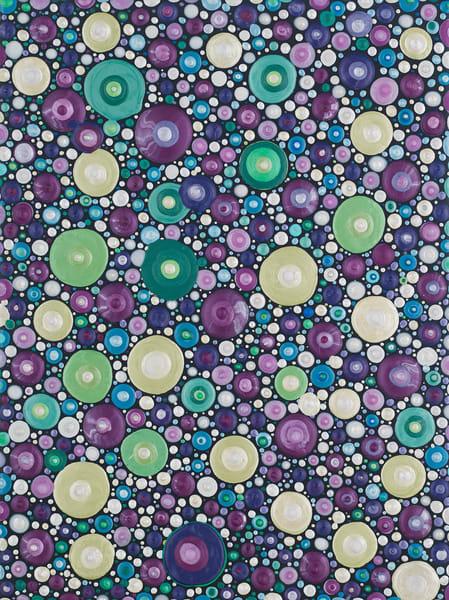 Beautiful Bubbly Texture Art