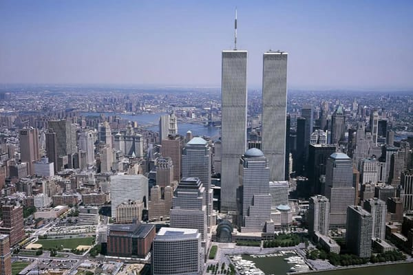 Twin Towers - NYC Skyline Wall Mural