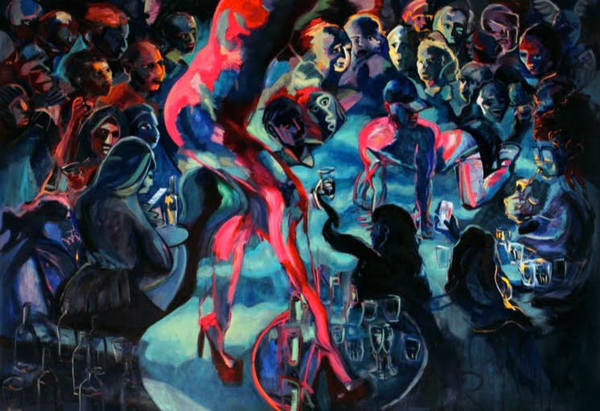 Burlesque At Houes Of Yes Art | Wet Paint NYC
