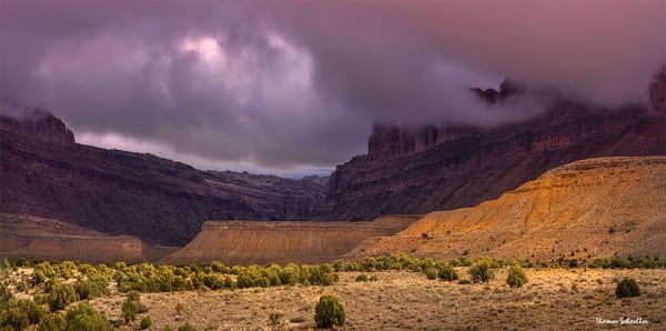 Black Dragon Canyon | dramatic Utah fine art landscape photography prints by Thomas Schoeller
