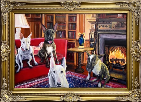 Pet Portraits, Family Portraits, custom, creative