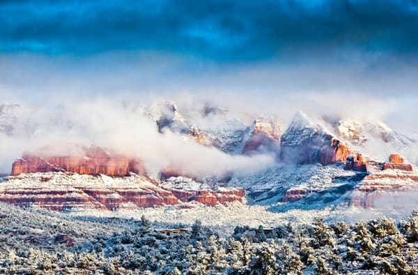 Sedona In Snow 35x23 1 Of 1 Photography Art | Laura Tidwell Photography