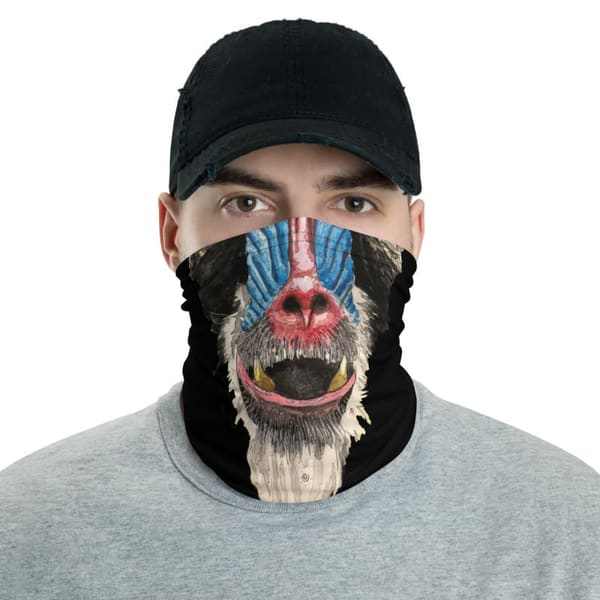 Mandrill Face Mask | Water+Ink Studios