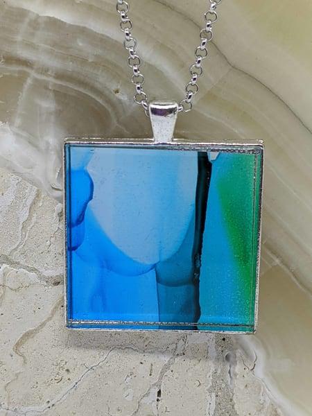 Blue Veil Art | Barbara Bell Fine Art