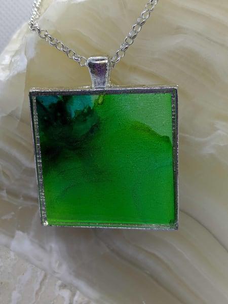 Journey In Green Art by barbarabell
