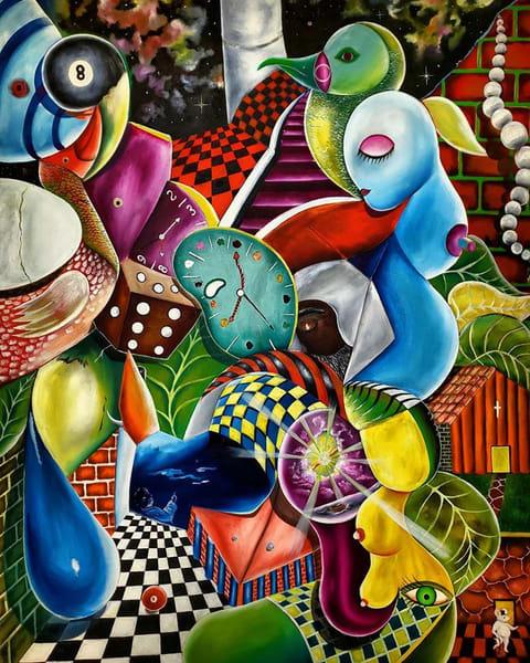 David Aquino La Metanoia Oil On Canvas 48x36 1 Art | Ralwins