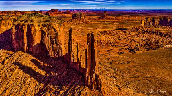 Monument Valley Az Three Sisters Photography Art | vitopalmisano