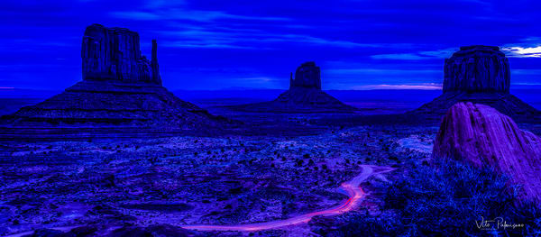 Monument Valley Dusk Az Photography Art | vitopalmisano