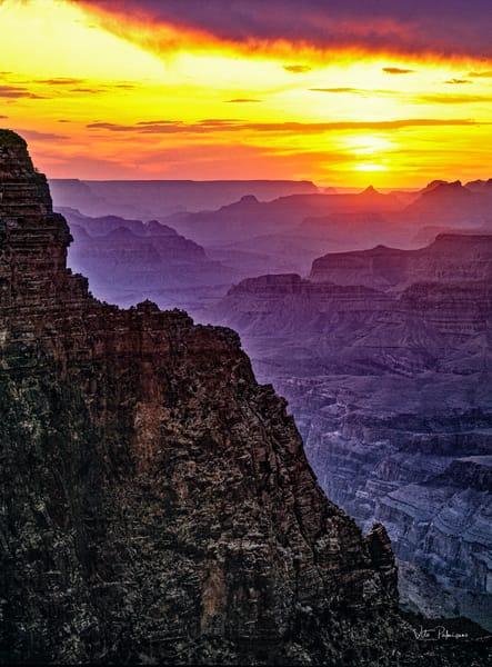 Grand Canyon Sunset Vert Az Photography Art | vitopalmisano