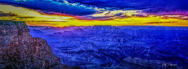 Grand Canyon Twilight Az Photography Art | vitopalmisano