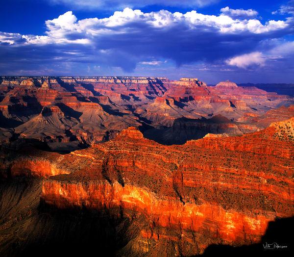 Grand Canyon Sunset Az Photography Art | vitopalmisano