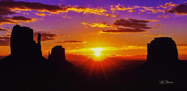 Monument Valley Sunrise Az Photography Art | vitopalmisano