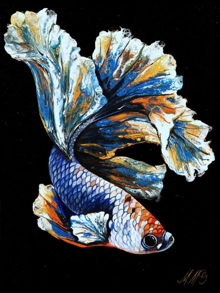 Alpha Betta | Mixed Media Original Painting