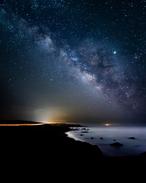 Coastal Milky Way - San Simeon, California
