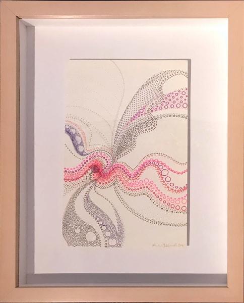 Circles With Pink, 2017 Art | Artist Rachel Goldsmith, LLC