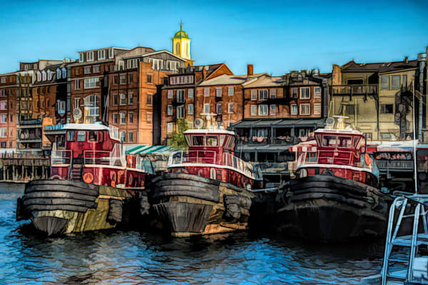 Portsmouth Tugs  Photography Art by pamphillips