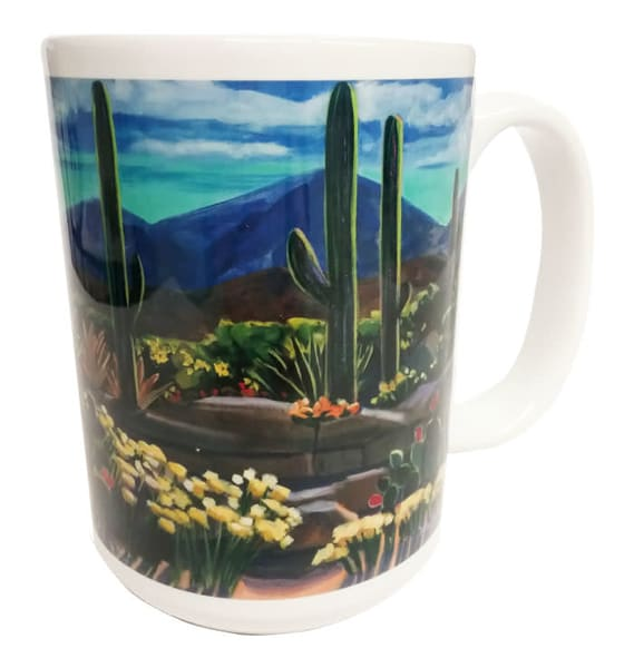 After A Good Rain 15 Oz. Mug | Madaras Gallery