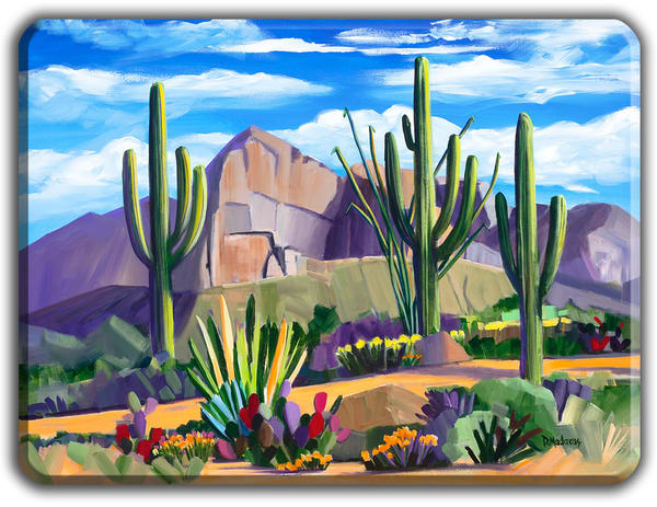 Path At Pusch Ridge Large Cutting Board  | Madaras Gallery