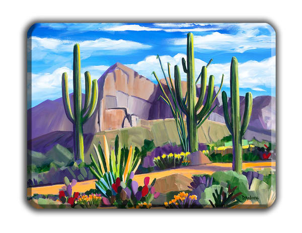 Path At Pusch Ridge Small Cutting Board  | Madaras Gallery