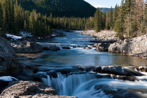 Elbow River Falls after the Floods