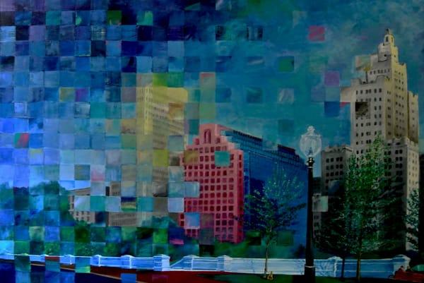 """Providence Skyline"" Original"