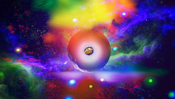 Space Fantasy Art - Astral Plane - Don White Art Dreamer