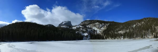 Winter Time At Bear Lake, Co. Photography Art | Creighton Images