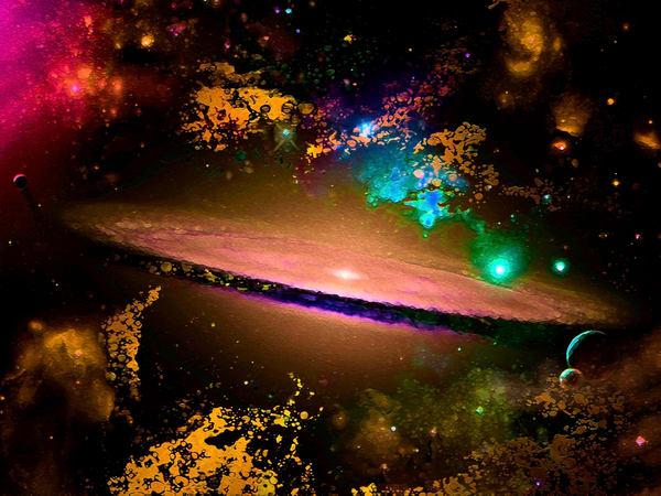 Space Fantasy Art - Star Nebula - Don White Art Dreamer