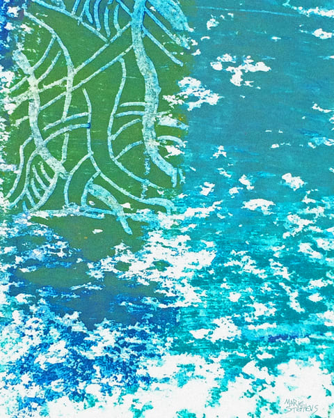 Into The Blue, Print Art | Marie Stephens Art