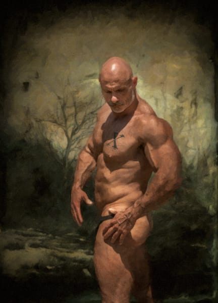 Beauty In the wasteland, men of a certain age, Ben Fink art prints, photo