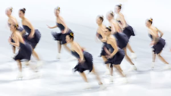 abstract synchro nationals senior long crystallettes
