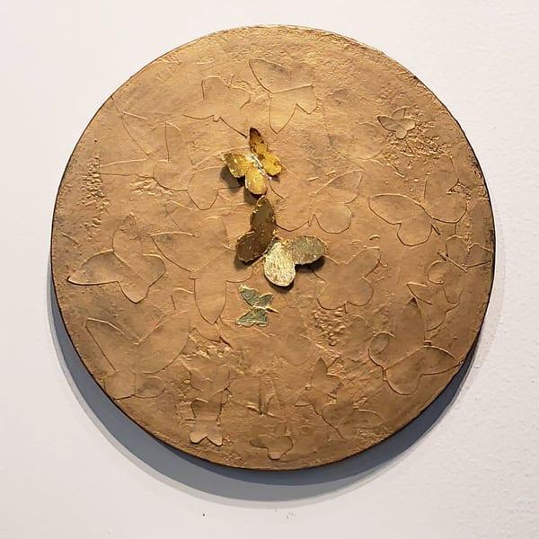 Small Round Butterflies Art | Debra Ferrari Fine Art