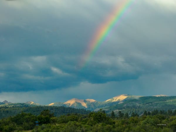 Rainbow Over The Rockies Photography Art | N2 the Woods Photography