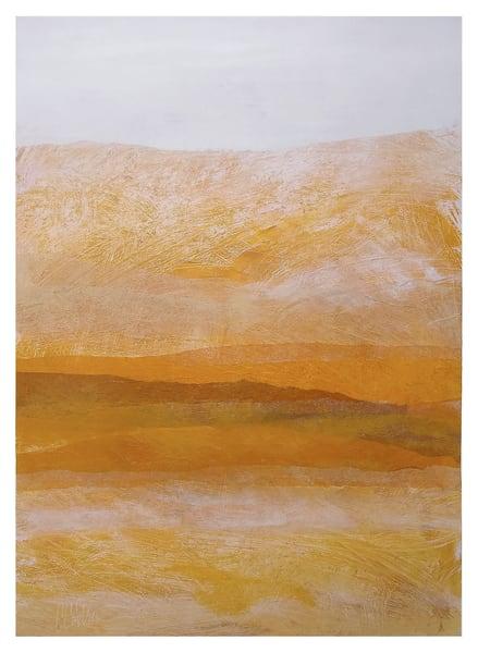 Amber Ridges - Original Abstract Painting | Cynthia Coldren Fine Art