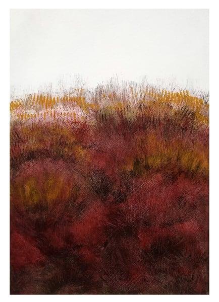 Grasslines - Original Abstract Painting | Cynthia Coldren Fine Art