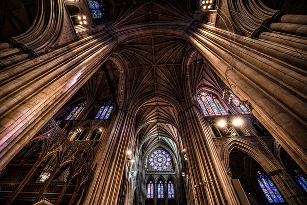 Transept National Cathedral in Washington DC