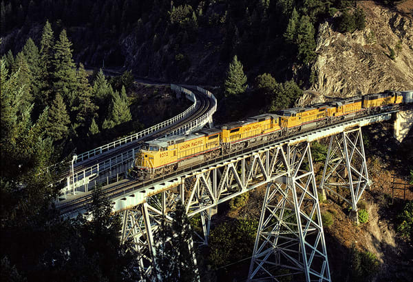 Up at Keddie Wye in Feather River Canyon