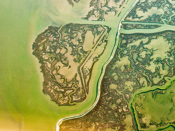 Islands From Air | Nature Art Photography