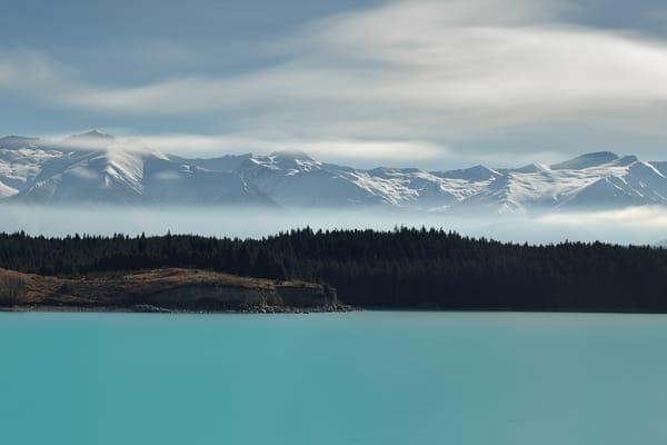 A beautiful, limited edition, fine art photograph of Lake Pukaki, New Zealand captured by David Shedlarz.