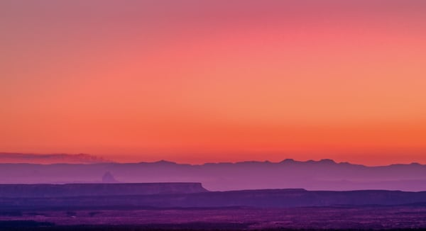 Glorious Western Sunset | Desert Landscape Photography Print
