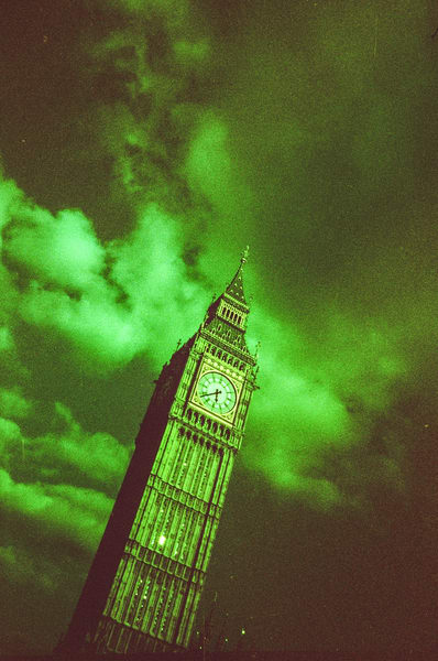 Ominous Big Ben Photography Print | Gifts For Art Lovers