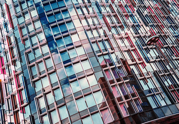 Urban Pink And Blue | Urban Art Photography Print