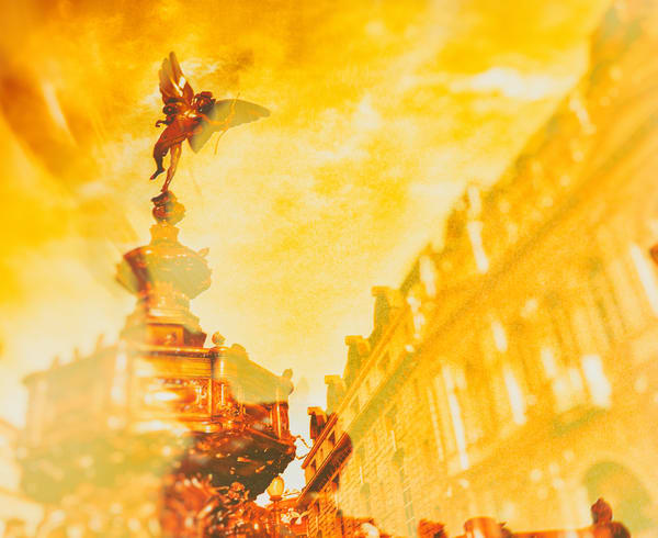 Piccadilly Gold   Urban Art Photography Print
