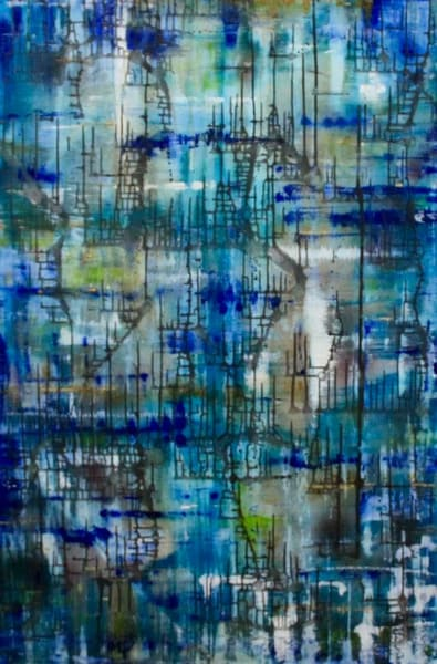 Signals Beneath The Sea Art | Lesley Koenig Studio