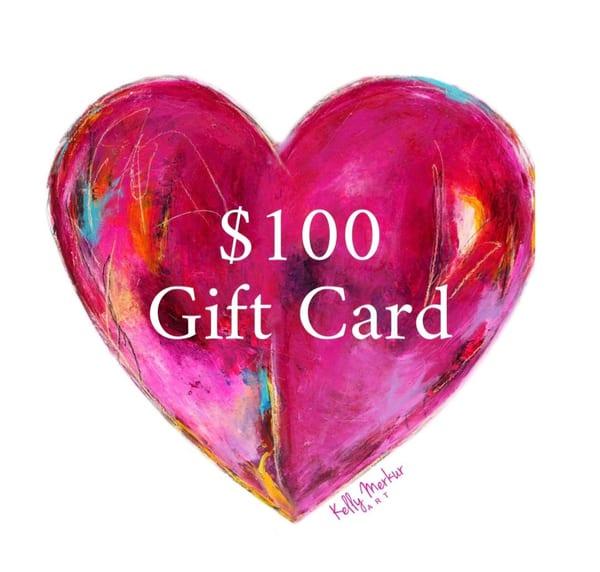 $100 Gift Card | kellymerkurart
