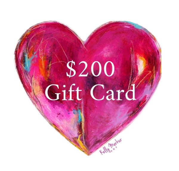 $200 Gift Card | kellymerkurart